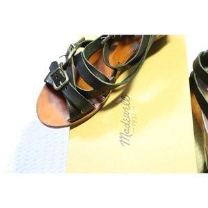Madewell 'Whistlestop' Mini-Wedge Buckle Sandal